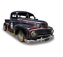 Ford - 1948 Pickup Photographic Print