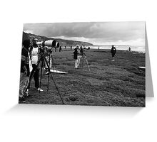Surf Photographers Greeting Card