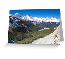 Icefields Parkway, Jasper National Park, Canada Greeting Card