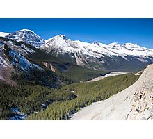 Icefields Parkway, Jasper National Park, Canada Photographic Print