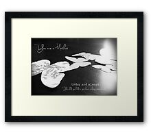 You are a Mother (loss of a baby) Framed Print