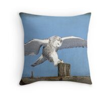 Disembark Throw Pillow