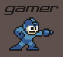 Gamer - Megaman by Sarah Kittell