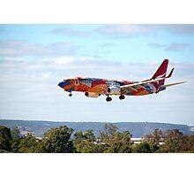 Qantas B737-800 'Yananyi Dreaming'  Photographic Print