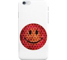 Smiley face - Escher graphic pattern iPhone Case/Skin