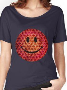 Smiley face - Escher graphic pattern Women's Relaxed Fit T-Shirt