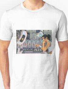 Chell vs. GLaDOS T-Shirt