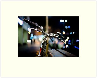bicycle@night by Victor Bezrukov