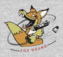 Foxhound classic MSX logo by noskap
