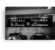 The Brandy of Distinction Canvas Print