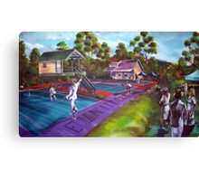 Eumundi Timber Challenge 2012 Canvas Print