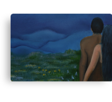 Dreaming Couples Canvas Print
