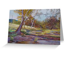 Beside the Creek Greeting Card