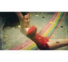 Submarine Photography Vintage Rainbow  Photographic Print