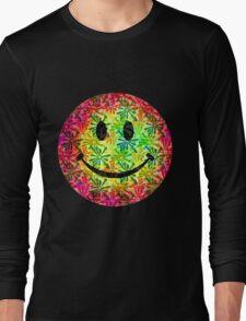 Smiley face - retro Long Sleeve T-Shirt