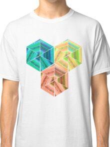tea towel hexagon collage Classic T-Shirt