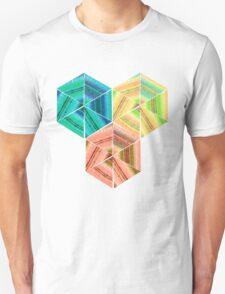 tea towel hexagon collage Unisex T-Shirt