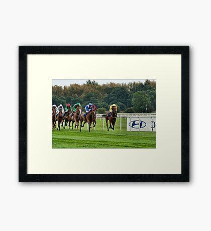 Flying Horses Framed Print