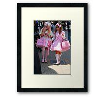 my prefered Barbie dolls Framed Print