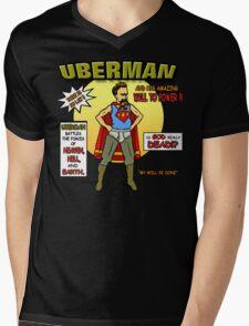 Uberman Mens V-Neck T-Shirt