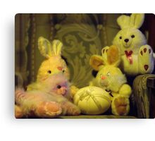 Ready for Teddies Easter Party Canvas Print