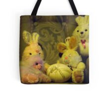 Ready for Teddies Easter Party Tote Bag