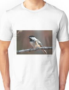 Tiny bird with so much presence Unisex T-Shirt