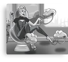 Forgetting Beethoven - The Mayor Canvas Print