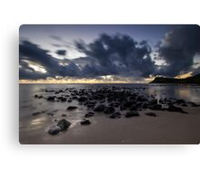 60 Seconds Before Dawn Canvas Print