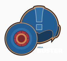Megaman - Mega Buster by lewtengco