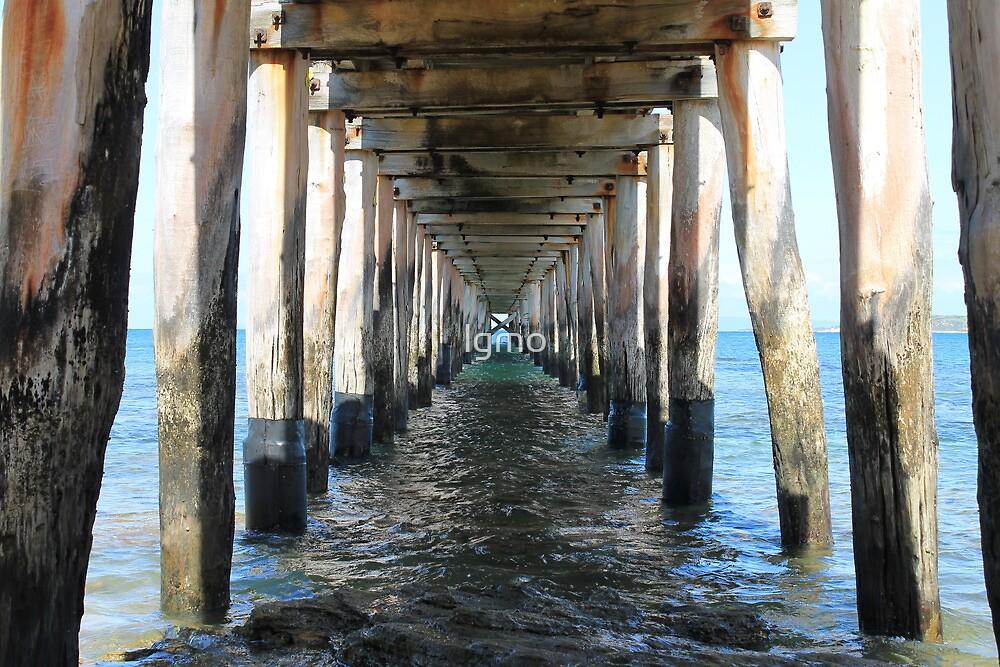 Point Lonsdale Pier - Victoria, Australia by lgmo