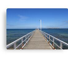 Point Lonsdale Pier - Victoria, Australia Canvas Print