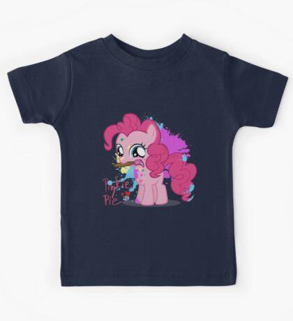 Pinkie Pie Color Splatter Kids Tee