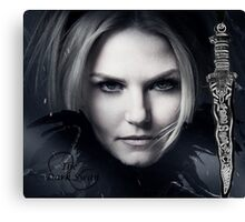THE DARK SWAN Canvas Print