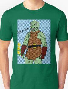 he's green, he's lean.. and he's err kind of an angry, alien reptilian T-Shirt
