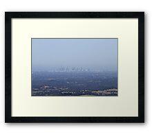 Melbourne, Victoria Framed Print