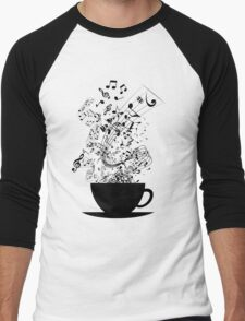 Cup of Music Men's Baseball ¾ T-Shirt