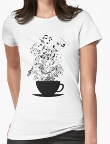 Cup of Music Womens Fitted T-Shirt