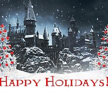 Happy Holidays from Hogwarts! by Serdd