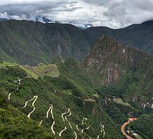 Green Machu Picchu by dtra