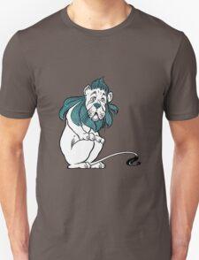 Cowardly Lion Illustration Unisex T-Shirt