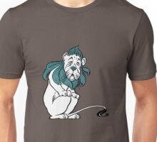 Cowardly Lion Illustration Unisex T-Shirt