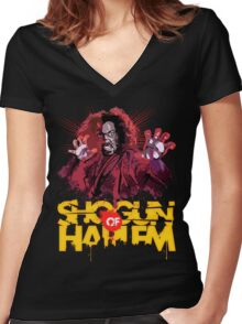 Shogun of Harlem Women's Fitted V-Neck T-Shirt