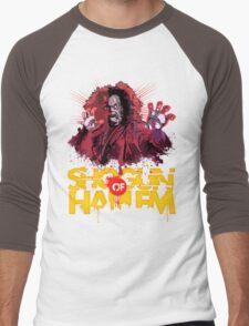 Shogun of Harlem Men's Baseball ¾ T-Shirt