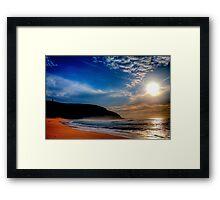 Palm Beach Lighthouse-Sunrise Framed Print