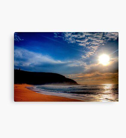 Palm Beach Lighthouse-Sunrise Canvas Print