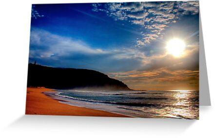 Palm Beach Lighthouse-Sunrise by Andrew  MCKENZIE