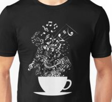 Cup of Music (White) Unisex T-Shirt