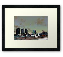 Melbourne Docklands, Australia 01 Framed Print