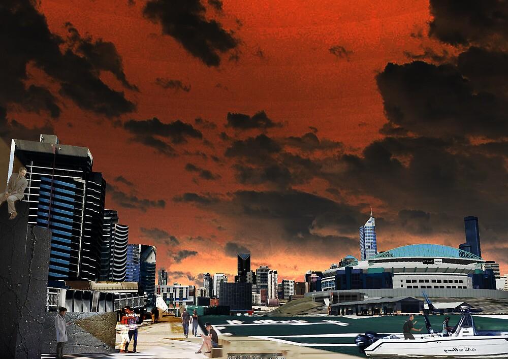 Melbourne Docklands, Australia 02 by KimDiep